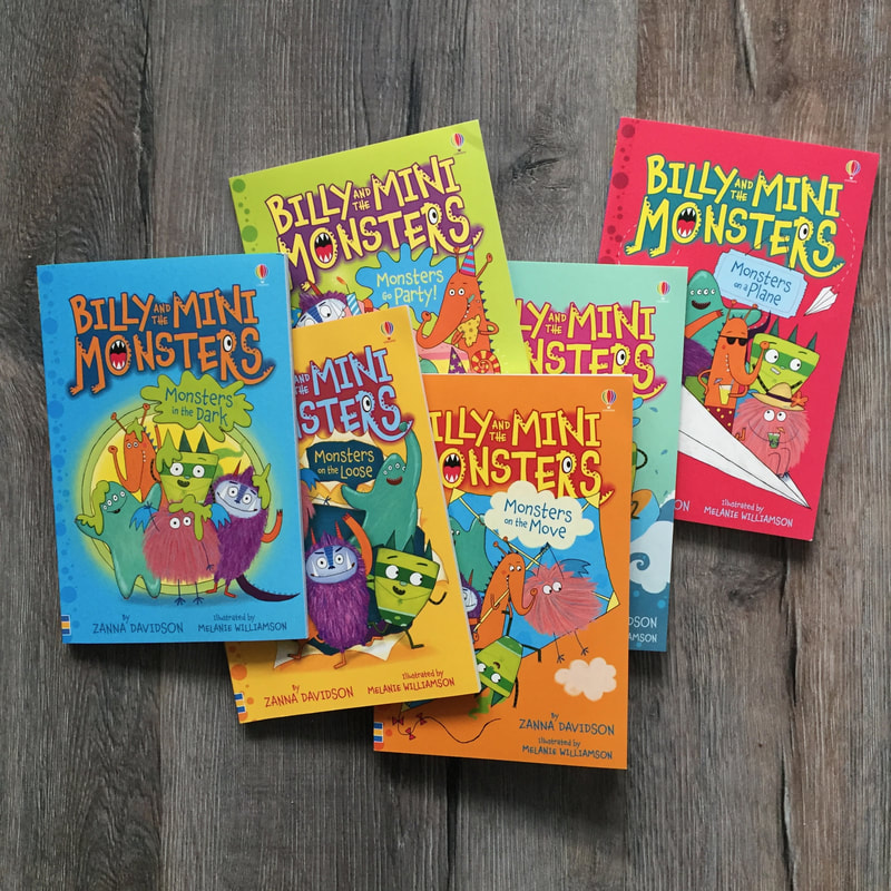 Billy And The Mini Monsters Series It S That Book